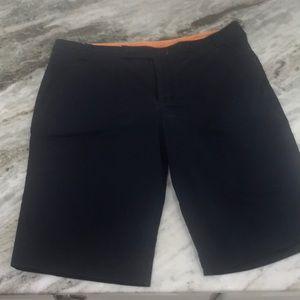 Tory Burch Navy Bermuda Shorts, Size 14